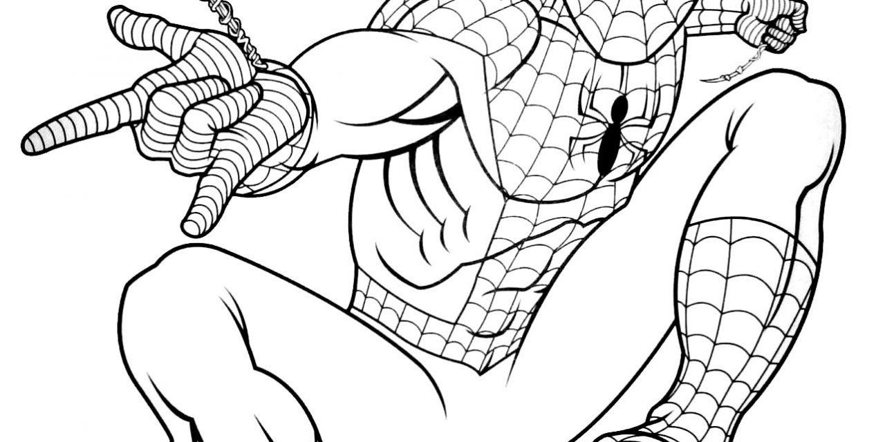 Comment dessiner spiderman ?