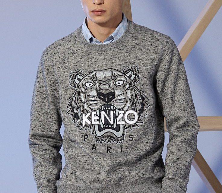 Kenzo pull homme, il est à la mode en ce moment