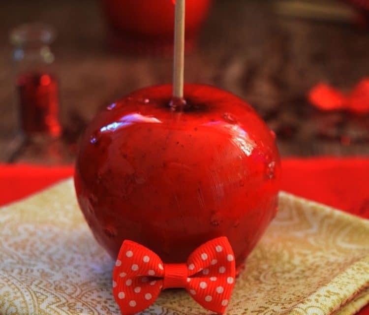 Comment faire une pomme d'amour ?